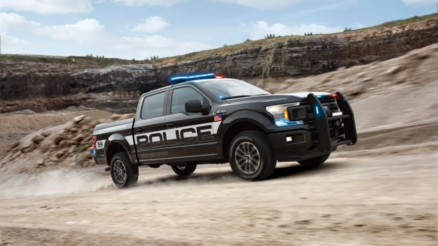 Ford F-150 Truck Built for Police