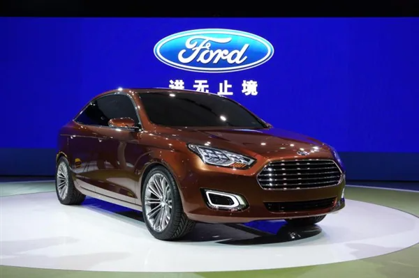 New Ford Fusion Unveiled in Shanghai