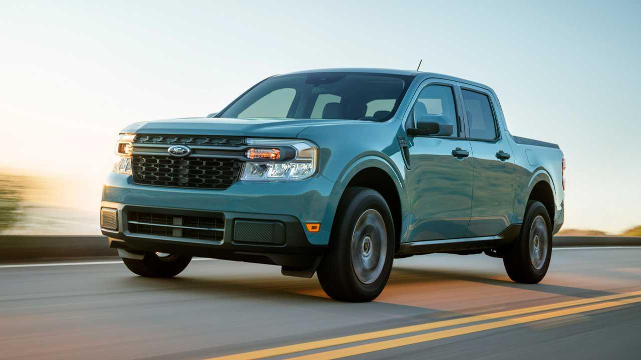 2022 Ford Maverick full hybrid truck